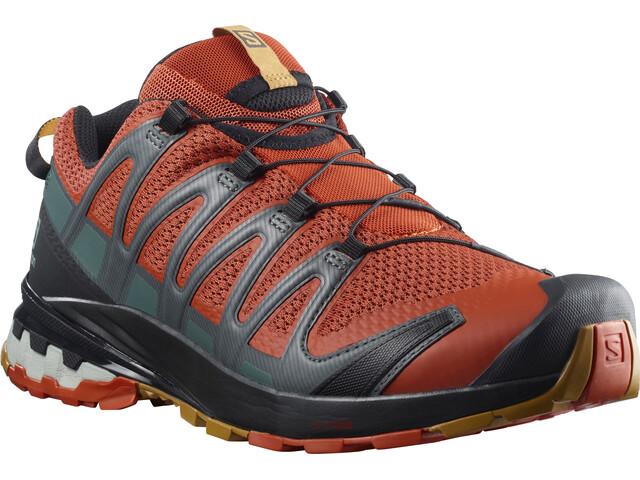 Salomon XA Pro 3D v8 Shoes Men rooibos tea/black/cumin